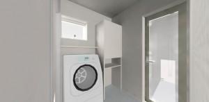 9.洗濯脱衣室